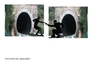 in lavorazione collages fantasiologici