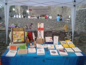 stand fantasiologico Ngurzu edizioni sagra del borgo riardo (CE) 10 luglio 2015