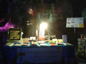 stand Ngurzu edizioni con Fantasiologo